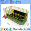 Customized Design Professional Bungee Jumping Bed Indoor Fitness Trampoline