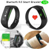 Bluetooth Smart Bracelet with OLED Screen and Heart Rate Monitor (V6)