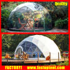 Transparent Steel Frame Geodesic Dome Tent