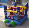 The Blue Sports Game Inflatable Bouncer Jump Chb370