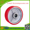 Polyurethane Cast Iron Roller Bearing Caster Wheel