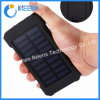 Top Solar Power Bank Waterproof 20000mAh for Smartphone with LED Light Solar Charger USB Powerbank