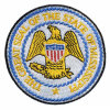 Premuim Customized Embroidered Badge Iron on Emblem Patch of State of Mississippi