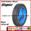 Various Metal Type Dimensions of Rubber Wheel.