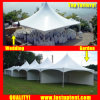 China Factory High Peak Pinnacle Tent for Outdoor Ceremony Diameter 12m 100 People Seater Guest