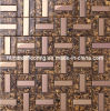 Glass Mix Stainless Steel Metal Mosaic Tile for Kitchen Backplash (SM207)