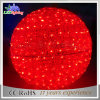 2017 Holiday LED Outdoor Decorative Red Motif Christmas Ball Light