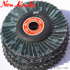 "4"" Soft and Flexible Flap Disc for Plastic, Aluminum and Stainless Steel"