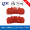 Made in China Volvo Brake Pads Steel Backing Plate for Mercedes-Benz