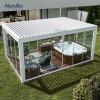 Motorized Terrace Louvre Roof Designs Outdoor Furniture Waterproof Gazebo Aluminium Pergola