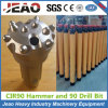 CIR90-90mm Low Air Pressure DTH Hammer and Drill Bit