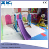 Children Multi-Colour Choice Indoor Play Plastic Slide with Swing and Basketball