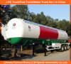3 Axle 56000L LPG Tank Trailer 25tons LPG Trailer 20tons LPG Gas Trailer for Dubai