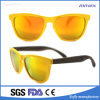 Hot Sale Plastic Frame Two Colours Sunglasses