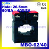 Current Transformer for Ammeter Mbo-62/40 AC Current Transformer 60/5 to 400/5 Toroidal Current Transformers