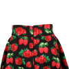 in Stock Strawberry Print Large Pendulum Length Party Skirts for Women