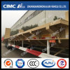 Cimc Huajun 3axle Lowbed Trailer with Rotating Support