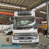 Isuzu Midium Duty Ftr 8m Length Fresh Vegetable Fruit Frozen Meat Delivery Refrigerated Van Box Truck
