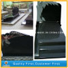Absolute Black Granite Tree Carved Tombstone/Monument for Europe Styles