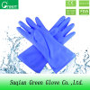 Blue PVC Kitchen Cleaning Gloves
