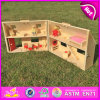 2015 Wooden Dollhouse Furniture, Dollhouse Miniatures Furniture Wholesale, Mini Wooden Dollhouse W06A122