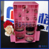 Acrylic Cosmetic Makeup Organizer with Lipstick and Compact Compartments