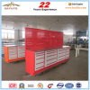 112in 20drawer Steel Roller Tool Storage Cabinet with Wooden Top