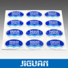 Custom Cute Design Waterproof Adhesive Clear Crystal Epoxy Sticker