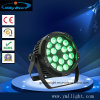 18PCS 4in1 RGBW, 5in1 RGBWA, 6in1RGBWA+UV LED Stage Flat PAR Lighting