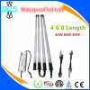 USA Shipping 8FT Long 8 FT T8 High Output LED Tube Light 80watt T12 Linear Fluorescent Tube Replacement