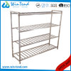 Stainless Steel Robust Construction Square Tube Vade Mecum Shelf