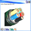 VV22 5 Cores PVC Insulated and Sheathed Steel Tape Armored Power Cable