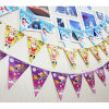 Promotional Bunting Banner Custom Triangle Pennant Flags