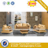 White Color Living Room Genuine Leather Sofa (HX-8N2180)