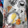Printed Fabrics, Textiles China, Polyester Fabric Sheets, Four-Piece Home