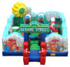 Nice Indoor Use Inflatable Amusement Park Fun City Inflatable Playground