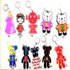 Cartoon Rubber Key Chain Keychain Keyholder for Gifts