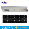Integrated 80W Solar Street Light with PIR Motion Sensor Function