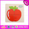 2015 Novelty Wooden Puzzle Toy Educational Toy, Magnetic Puzzle for Kids, Apple Design Wooden Puzzle Game Toy for Children W14c093