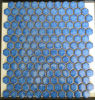 Blue Hexagon Ceramic Mosaic Tile