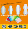 Economic Unfolded Standard Disposable Lady Sanitary Napkins