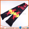 Brand Logo Knit Promotional Football Fan Scarf