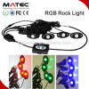 Car Accessories LED Rock Light Bluetooth RGB Controller LED Rock Light for ATV UTV Car Truck