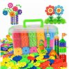 Chilren DIY Educational Toys Building Blocks Kids Promotion Gift Snowflake