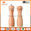 Ceramic Mill Type Wooden Salt and Pepper Shaker
