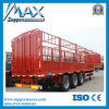 China Commercial Vehicle 3 Axles Fence Semi Trailer