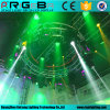 Customized Colorful Mini Rotating Rotary Circle Lighting Revolving Truss (6061-T6)
