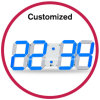 Custom Logo Electronic Digital Wall Clock