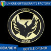 Logo Customized Gold Plated Beer Opener Metal Bottle Opener