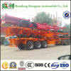 20FT 40FT 3 Axle Skeletal Container Truck Semi Trailer